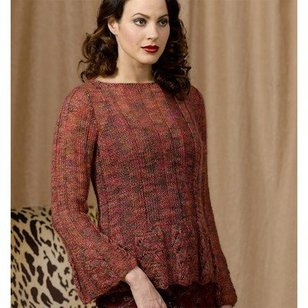 Scalloped Ribbed Pullover (Free)