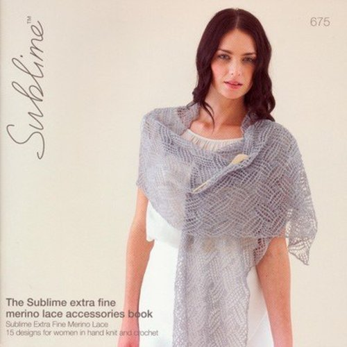 View larger image of 675 The Extra Fine Merino Lace Accessories Book