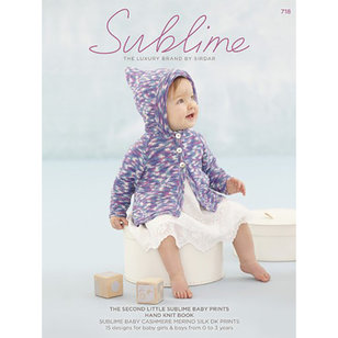 718 The Second Little Sublime Baby Prints Hand Knit Book