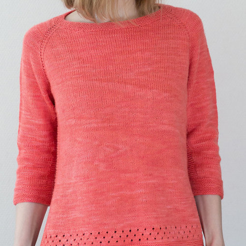 View larger image of Perforated Sweater PDF