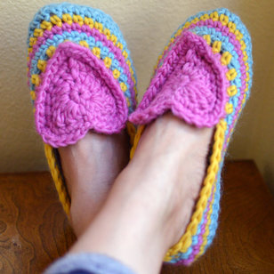 302 Heart and Sole Slippers PDF