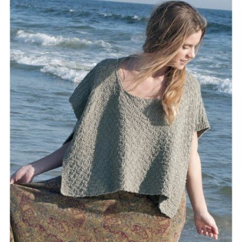 View larger image of Centerport Cropped Poncho PDF