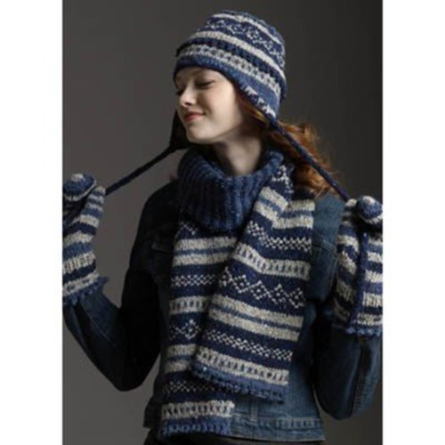 View larger image of Fair Isle Scarf, Hat & Mittens (Free)