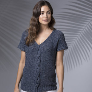 Marquee V-Neck Top PDF