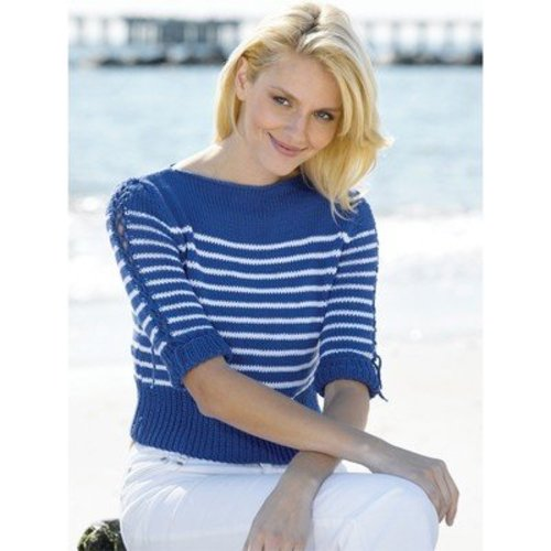 View larger image of Nautical Stripes Boatneck Pullover (Free)