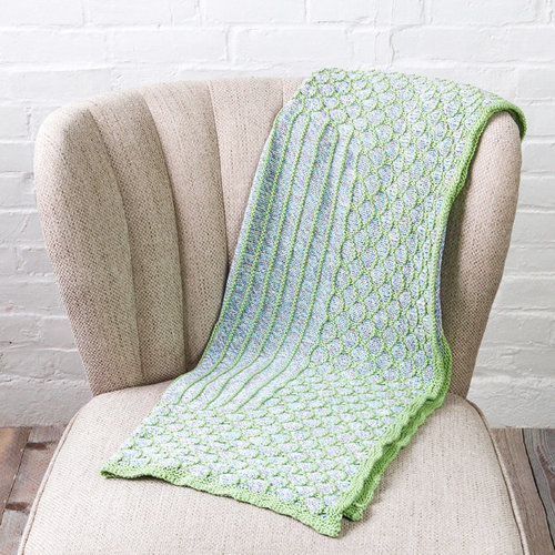 View larger image of Palmetto Baby Blanket PDF