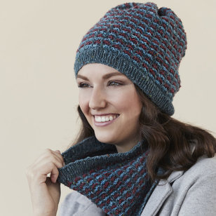 Redvale Hat and Cowl PDF