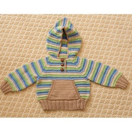 View larger image of Striped Hoodie & Hat PDF