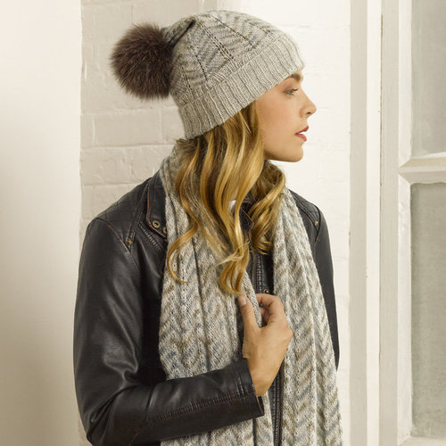 View larger image of Umbria Hat & Scarf PDF