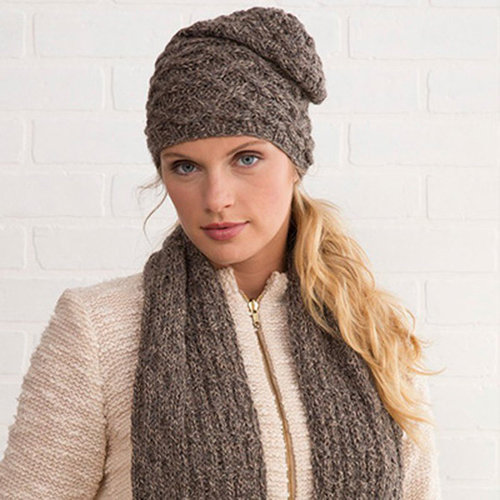 View larger image of Winter Woods Scarf & Hat PDF