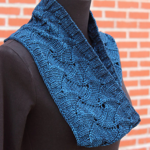 View larger image of Starry Night Cowl PDF