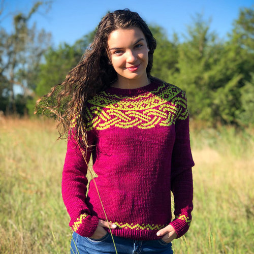 View larger image of Plaited Pullover PDF