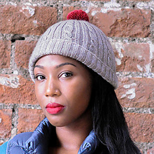 Cable and Rib Hat PDF