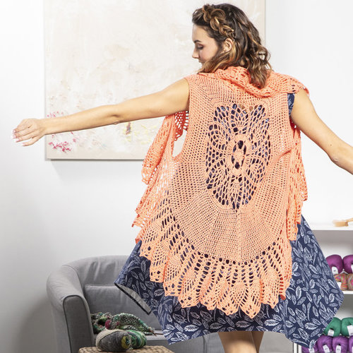 View larger image of 04 Lacy Crochet Vest in Bamboo Pop PDF