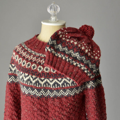 View larger image of Asheville Sweater and Hat (Free) PDF