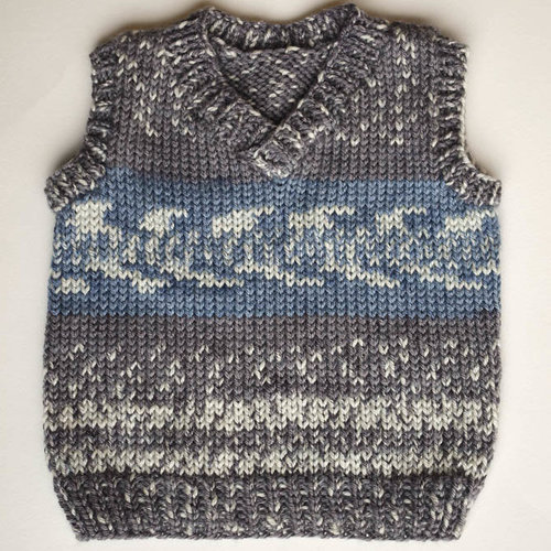 View larger image of Cute Little Vest (Free)