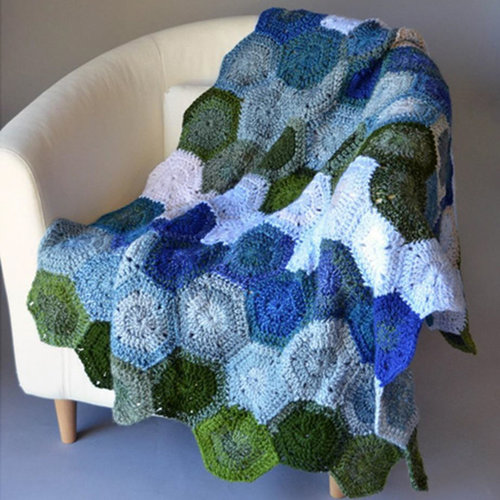 View larger image of Lilypad Afghan (Free)