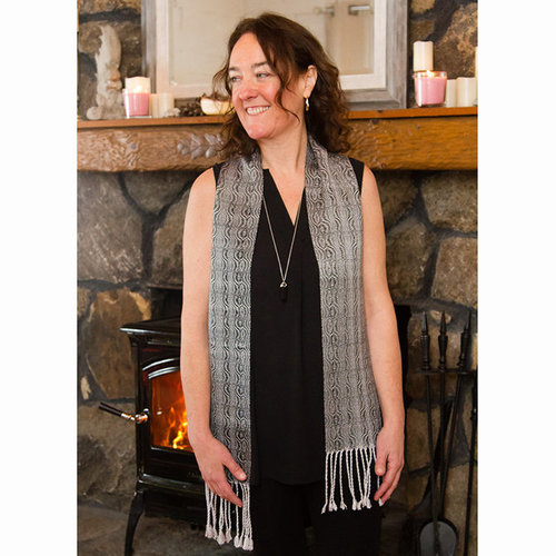 View larger image of #117 Wanderings Scarf PDF