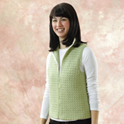 View larger image of 144 Sweet Pea Crocheted Vest