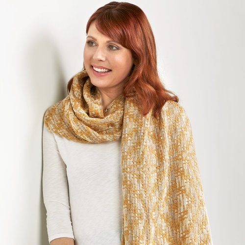 View larger image of #181 Flaxen Shawl PDF