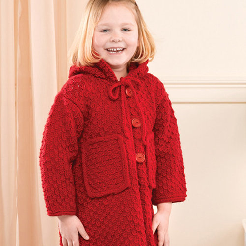 View larger image of 206 Red Hooded Child's Jacket (Free)