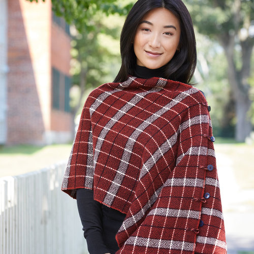 View larger image of #211 Perfectly Plaid Poncho PDF