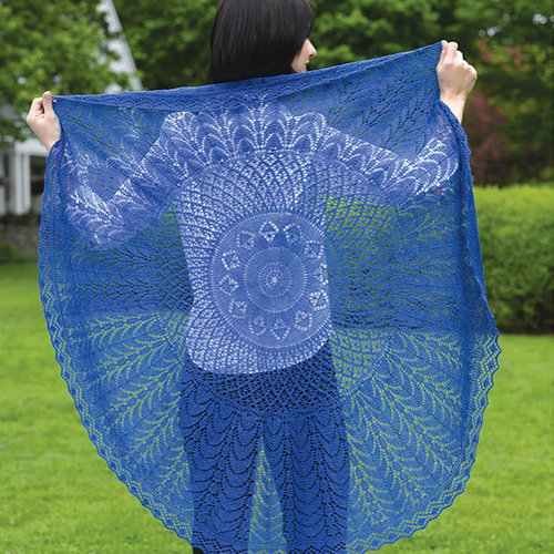 View larger image of 225 Firmaments Lace Shawl (Free)