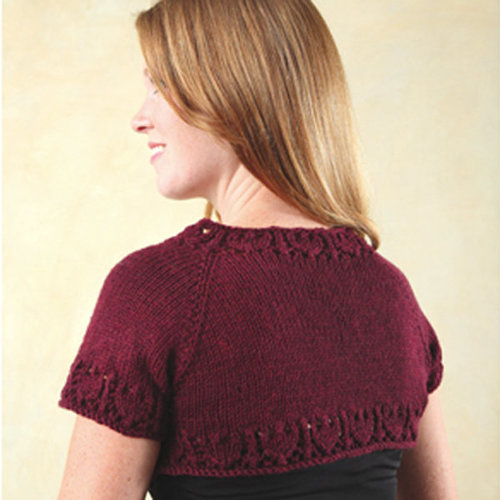 View larger image of 245 One Skein Shrug (Free)