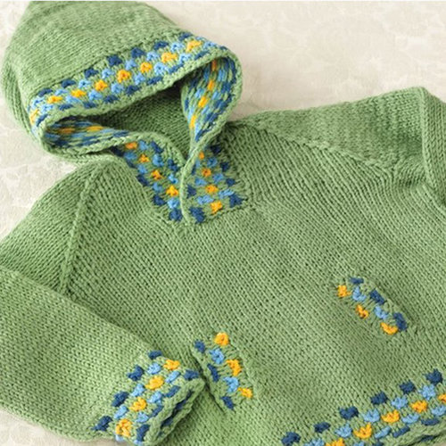 View larger image of 274 Candy Spot Child's Hoodie PDF