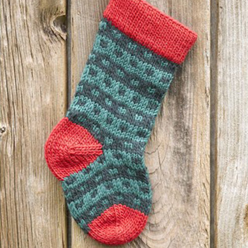View larger image of 283 Spotted Christmas Stocking (Free)