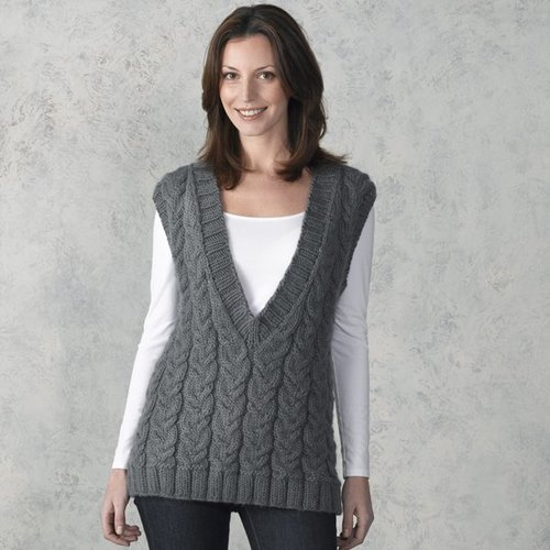 View larger image of 302 Smokehouse Cabled Vest