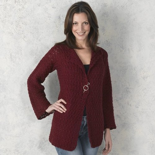 View larger image of 304 Pomona Crocheted Cardigan