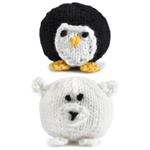 View larger image of 347 Knit Penguins and Polar Bears (Free)