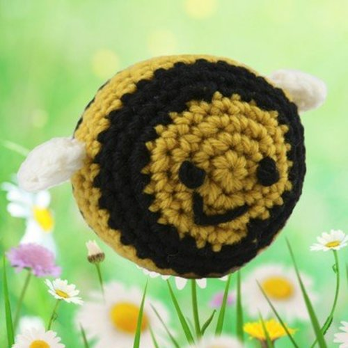 View larger image of 375 Crocheted Bumblebee (Free)