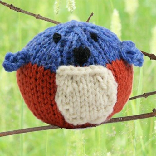 View larger image of 402 Knit Bluebird (Free)