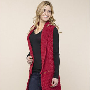 40th Anniversary 17 Long Collared Vest