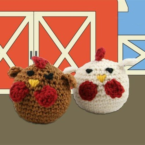 View larger image of 426 Crocheted Chickens (Free)