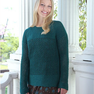 531 Vetiver Lace Pullover