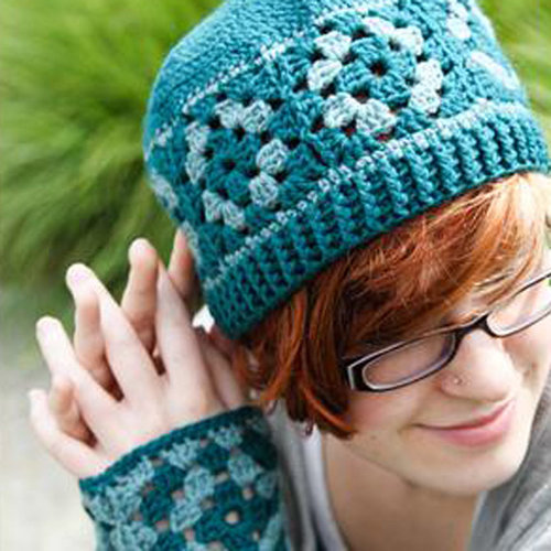 View larger image of 559 Marjoram Hat & Mitts