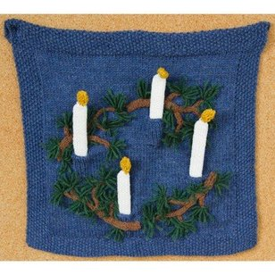 579 Advent Candle Wall Hanging (Free)