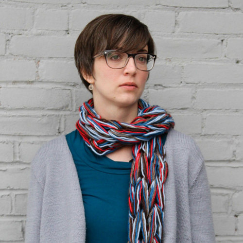 View larger image of 593 Arm Knit Scarf (Free)