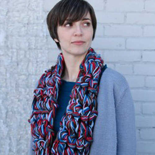 View larger image of 594 Finger Crochet Cowl/Scarf (Free)