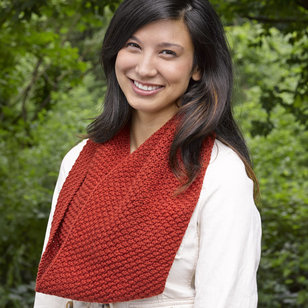 611 Knit and Purl Cowl