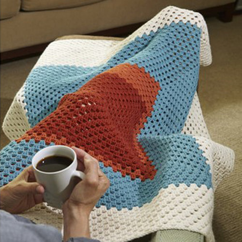 View larger image of 616 Modern Granny Afghan