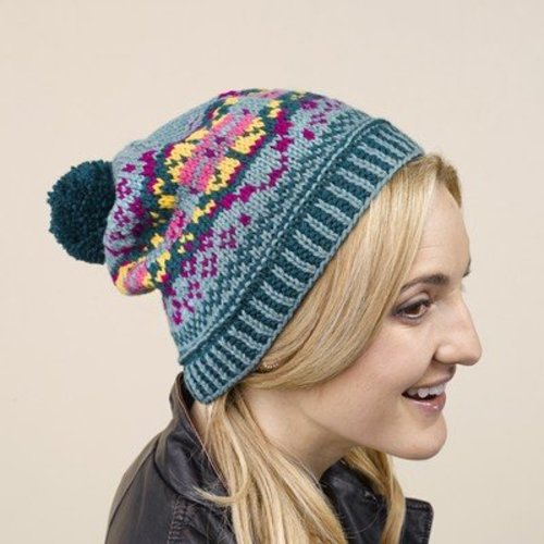 View larger image of 639 Plesti Fair Isle Pullover and Hat
