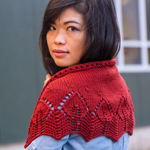 View larger image of 764 Firelight Shawl