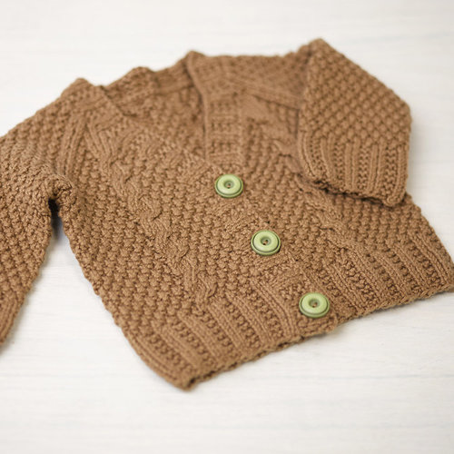 View larger image of 776 Maple Baby Cardigan