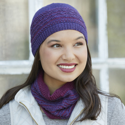 View larger image of 873 Sugarplum Hat and Cowl