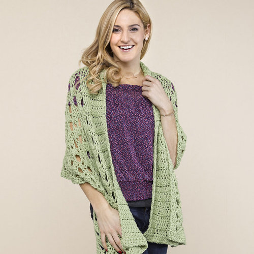 View larger image of WEBS DIR02 Shawl Collar Stole by Doris Chan