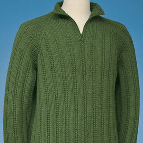 View larger image of 166 Top-Down Half-Zip Pullover PDF